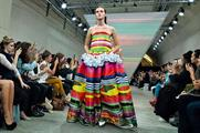 Microsoft collaborated with fashion label Fyodor Golan at LFW