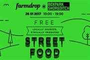 Farmdrop stages Boxpark takeover