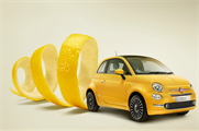 Fiat hosts granita bar to mark launch of new Fiat 500 model