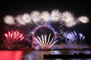 Jack Morton delivers London New Year's Eve fireworks