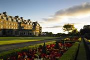 Gleneagles Hotel: hosting this year's Ryder Cup