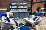 The Grey Goose terrace at Harvey Nichols serves up cocktail and food pairings