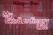 Inside Häagen-Dazs' My Extraordinary Life pop-up
