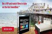 The VIP bed experience forms part of Brighton's Big Screen event