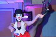 Cirque le Soir performers at the Event Awards 2014