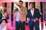 Musician Mark Ronson hosted the launch onboard Maison Mumm's private yacht in Monte Carlo