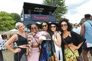 Nandos' Cock o' Van hosted a series of live music performances at Lovebox (18 July)