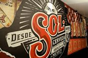 Sol branding that will appear within London bars