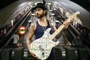Musician James Black unveiled the limited edition Stratocaster guitar