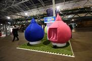 In pictures: Vaillant takes 'warmth pods' on UK station tour