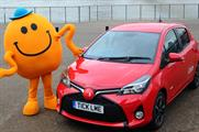 Toyota's celebrity consultant for the brand's tickle car activation
