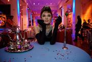 A waxwork model of Audrey Hepburn