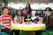 The stunt recreated Yorkshire celebrities in cake