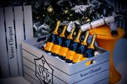 Gett Clicquot Party Packs include champagne, an ice bucket and other festive accessories