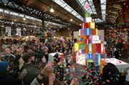 London's Colour Saturday took place at Spitalfields Market