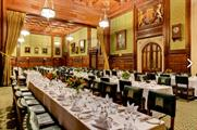 The House of Commons provides a historical backdrop for guests