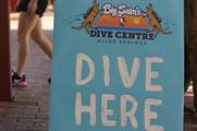 Samsung set up a dive centre in the Outback