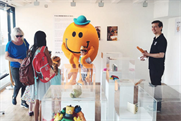 The pop-up exhibition