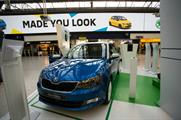 Customers will be able to digitally customise a Fabia