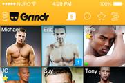 It is the first time Grindr has been used to live-stream a fashion show