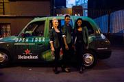 Heineken launched its Star Cabs activation in August