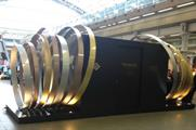 The Hennessy time capsule is situated on the course level of St Pancras International train station