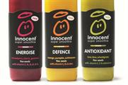 The Innocent supermarket will be promoting its super smoothies at three UK locations