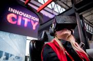 An Oculus Rift experience featured in the Innovation City