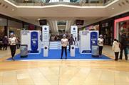 Nivea invites shoppers to experience full-body sampling activity