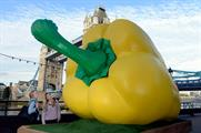 Morrisons' pepper toured London last July