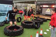 Consumers can get involved with a number of fitness challenges (@ReebokUK)