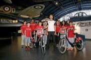 Jenson Button launched the summer scheme at the Science Museum