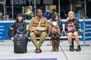 The #wearehere Somme tribute involved 1,400 volunteers dressed as WW1 soldiers