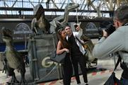 Velociraptors have taken over Waterloo Station