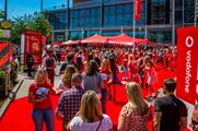 Behind the scenes: Vodafone's activation at Capital's Summertime Ball