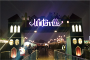 Winterville opened its doors on Tuesday