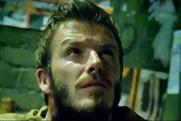 Beckham: stars in Adidas's Star Wars ad