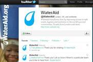 WaterAid: runs 24-hour Twitterthon