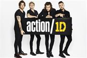 One Direction is calling on its fans to 'take action' against extreme poverty.