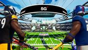 Inside Verizon's Fortnite Super Bowl stadium