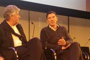 AOL CEO Tim Armstrong (right) dismissed reports of a love match with Yahoo.