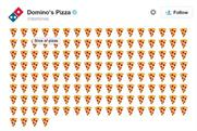 Domino's lets customers order pizza via emoji