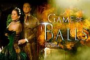"""""""Game of Balls"""" includes a M&C Saatchi PSA for the Blue Ball Foundation."""