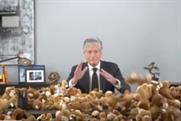 Publicis Groupe CEO Maurice Lévy adrift in teddy bears.