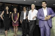(L-R) Yu Lin Loh, account director ManghamGaxiola McGarryBowen; Rosalynn Tay, CEO Dentsu Aegis Network Singapore; Robert Gaxiola, executive creative director and principle partner ManghamGaxiola McGarryBowen; Stephen Mangham, CEO and principle partner ManghamGaxiola McGarryBowen; Dick van Motman, chairman and CEO Dentsu Aegis Network Southeast Asia.