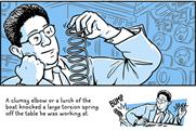 Intel lightened up its staid image with a Medium post on the history of the Slinky.