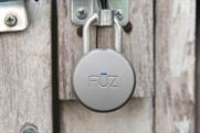Noke is offering a Bluetooth padlock at CES 2015. (Barn door not included.)