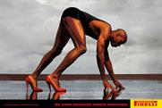 Carl Lewis: the athlete stars in one of Pirelli's most famous ads from the '90s.