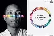 "Adidas ""Pharrell Williams — Supercolor"" by Johannes Leonardo."