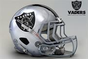 """Mexican artist John Raya recently redesigned all 32 NFL team helmets as """"Star Wars"""" characters."""